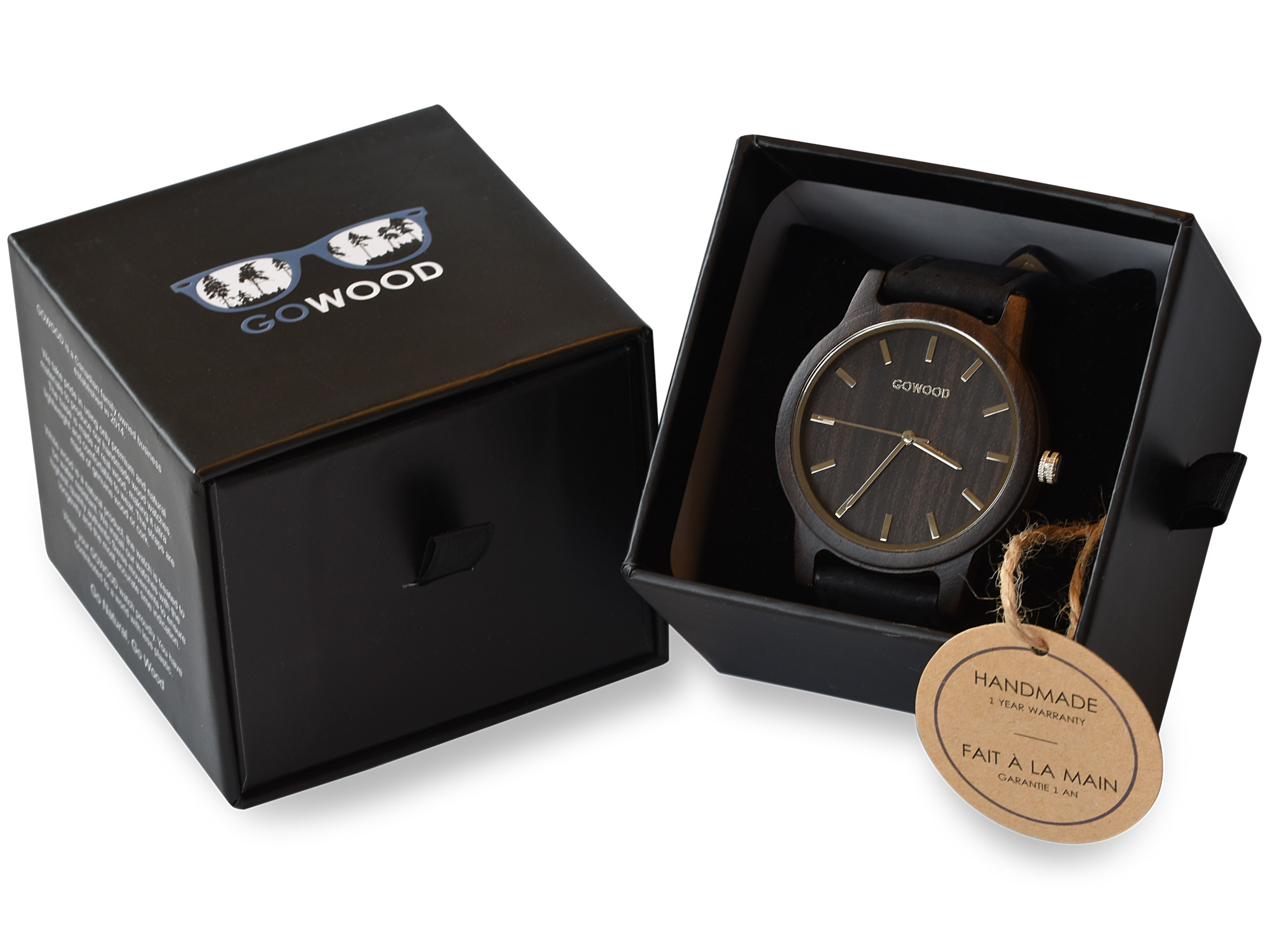 Black Sandalwood Watch
