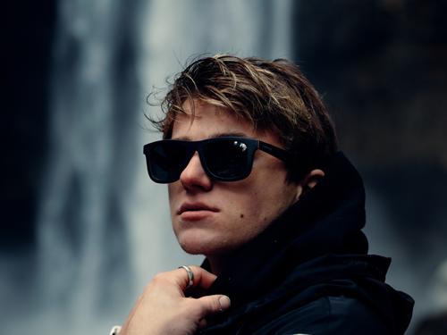 Canadian wood sunglasses