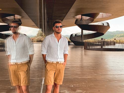 Round sunglasses for men