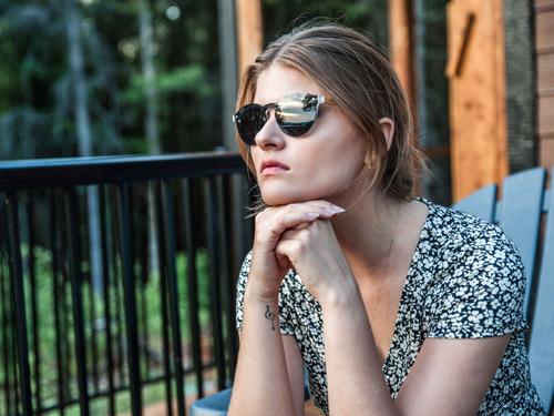 Round sunglasses for women