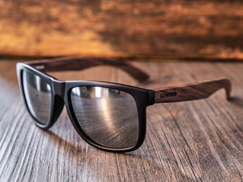 square wood sunglasses Sydney