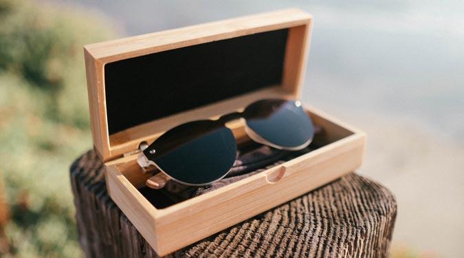 round rimless sunglasses Rio