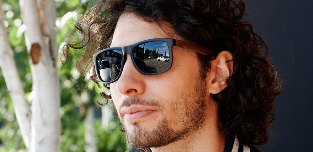 square walnut sunglasses Sydney