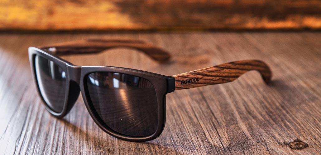 square zebra wood sunglasses Sydney