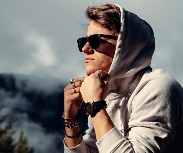 Wood Watch and Wood Sunglasses